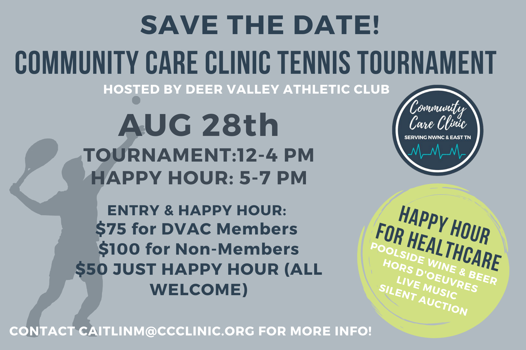 TENNIS TOURNAMENT IS BACK