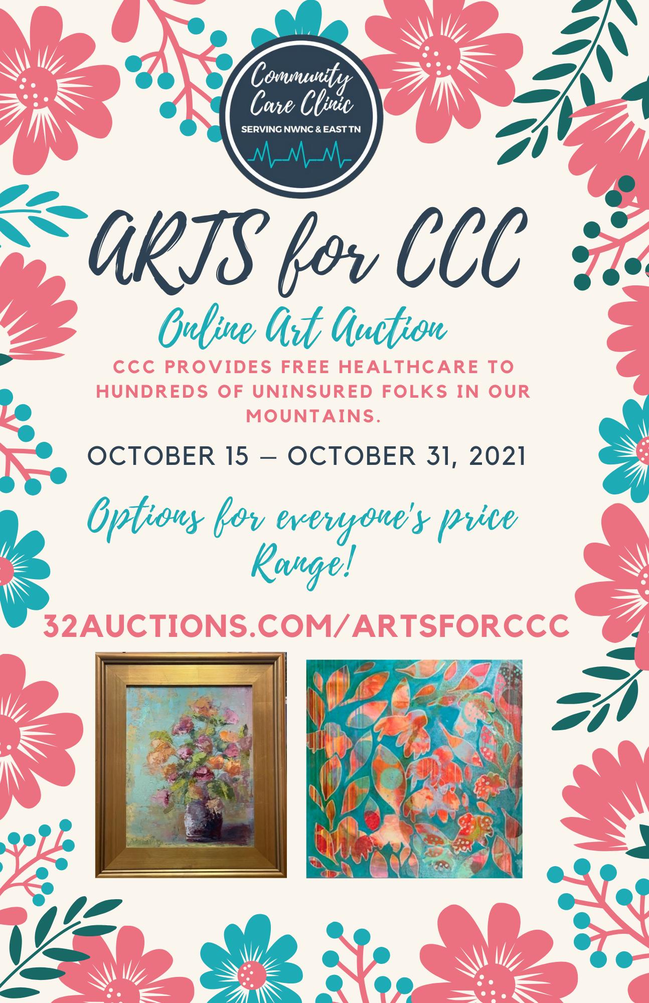 Arts for CCC Online Art Auction!